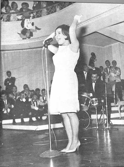 Elis Regina se apresenta no clube em 1965
