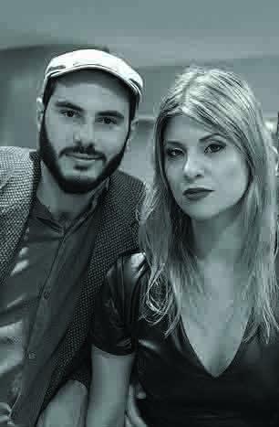 Duda Comunello e Jamy Savtchen com o Dose In Blues se apresentam no Curitiba Blues Festival (divulgação)
