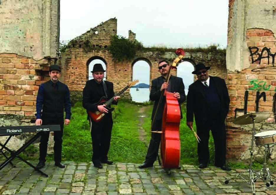 Tony Caster & The Black Mouth Dogs se apresenta no Curitiba Blues Festival (divulgação)