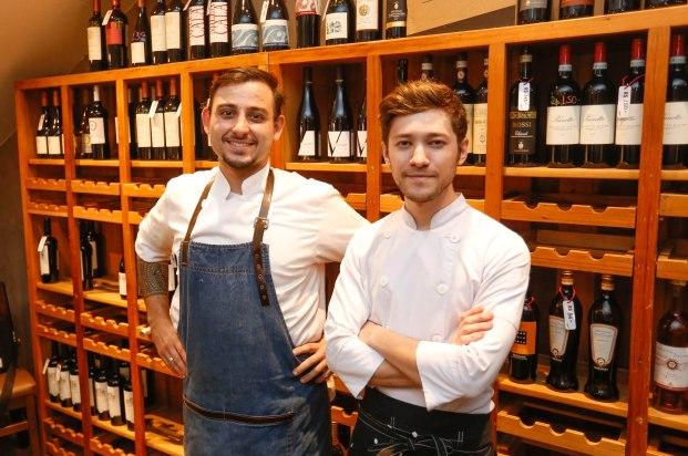 Giuliano Secco e Key Nakagura do Vino Batel (2)