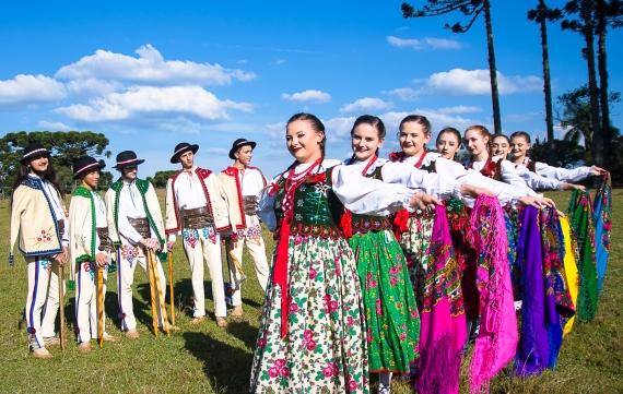 Grupo Folclórico Wawel. Credito Edison Renato