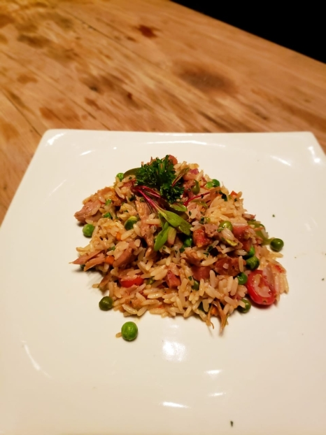 arroz de pato - bom gourmet