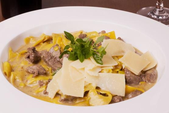 Fettuccine Piazza Rosa foto divulgação