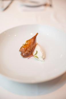 Fromage blanc com confiture de figues_La Varenne