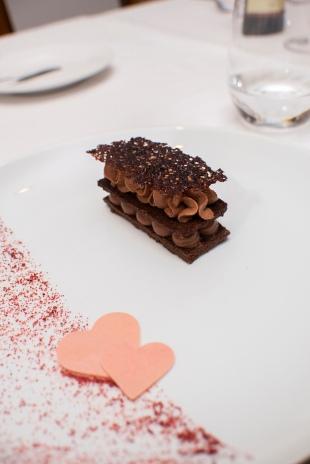 Mil folhas com texturas de chocolate_La Varenne