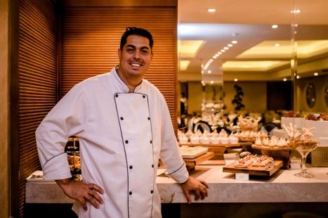 Chef pâtissier Juliano Dias