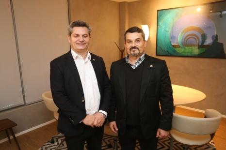 Jean Michel Galiano e Daniel Galiano, diretores do Grupo Apolar