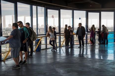Neste mês de julho a Torre Paranorâmica chega a 2 milhões de visitantes. Curitiba, 23/07/2019. Foto: Pedro Ribas/SMCS
