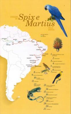Viagem de Spix e Martius - capa do programa