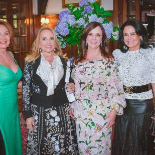 Solange Elias, Júlia Guérios, Rita Cooper e Sandra Formigheri