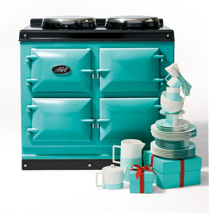 Tiffany Blue® Aga Total Control 3-ove