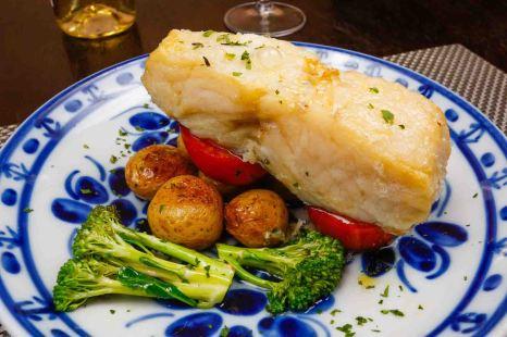 Bacalhau com batatas ao murro - Olivenca (2)