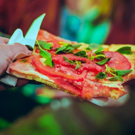 Thunderpizza é uma das opções gastronômicas que estará disponível - Cred Renala Kalkmann