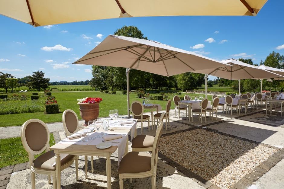 H.Grand Barrail - Restaurante - Terraço